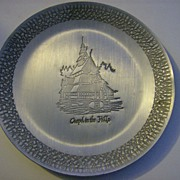 Chapel in the Hills ~ South Dakota ~ Souvenir Plate