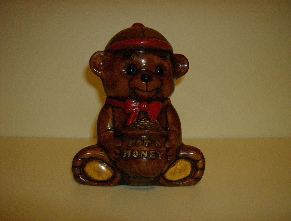 California Potteries ~ Treasure Craft ~ Bear Bank