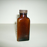 Anacin Bottle ~ Owens Illinois Glass Co. ~ 1942