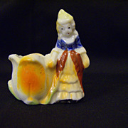 Victorian Woman Toothpick Holder ~ Japan