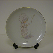Precious Moments May Birthday Plate ~ Enesco