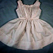 Beautiful Silk Sleeveless Dress for French Fashion or China Doll