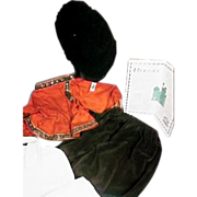 Cabbage Patch Doll Russian Kossack Outfit Travel Bag Papers T-Shirt 8 Pieces