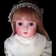 """Antique 22"""" Bisque Socket Head Doll ABG 1362 Ball Jointed Body Alt Beck Gottschalk"""