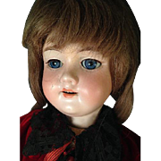 "23"" Bisque Head Doll AM 390 Armand Marseille Ball Jointed Composition Body"