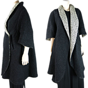 Wonderful 1950's Vintage Pauline Trigere Coat