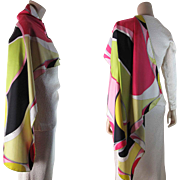1970's Vintage Emilio Pucci Silk Scarf