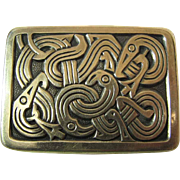 David Andersen Norway Vintage Sterling Silver Viking Pin