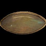 Flamboyant Vintage 38 Carat Rainbow Moonstone / Labradorite Ring