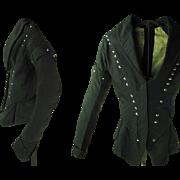 Rare Antique Circa 1820 Regency Young Men's / Boy's Coat