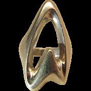 Vintage Georg Jensen #89 Modernist Ring