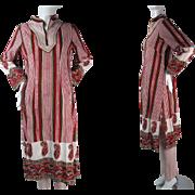 1960's Vintage Unworn Old Stock 2-Piece Poshak Punjabi Suit / Salwar Kameez Size Large