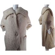 Plush 1950's Vintage Jacques Griffe De Paris Coat