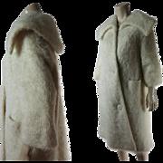 Stylish 1950's Vintage Jacques Griffe De Paris Coat
