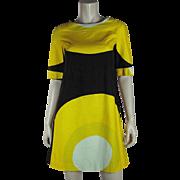 Vintage Dated 1967 Marimekko Design Research Trapeze Dress