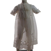 Exquisite Antique Child's Lace Dress