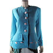 1970's Yves Saint Laurent Rive Gauche Jacket