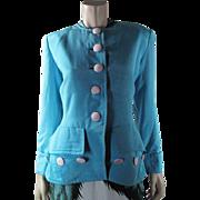 1970's Yves Saint Laurent Rive Gauche Jacket