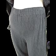 Vintage Issey Miyake Pleated Black Pants