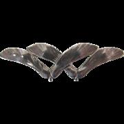 Vintage Jo Michels Maple Seed Pin / Brooch