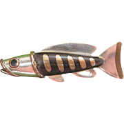 Mid Century Modernist Mixed Metals And Wood Fish Pin By Clifford Russell