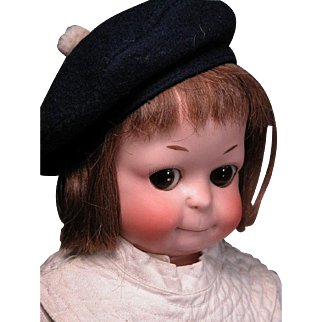 """14"""" Ernst Heubach 310 Googly Extremely Rare and Adorable"""