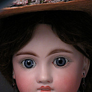 "22"" German Sonneberg 136 Child with French Jumeau Look"