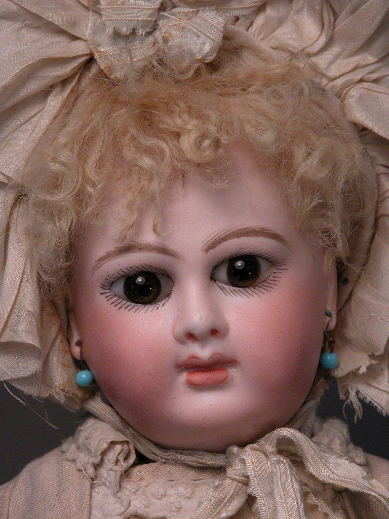 "15"" Divine Unmarked French Bebe, Early Schmitt, Mothereau"