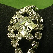 Vintage Glitz & Glam Crystal Rhinestone Bracelet