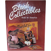 Black Collectibles Sold In America by P J Gibbs Collector Books 1987