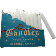 Vintage Wax Candles for Angel Chimes or Caraousel Chimes