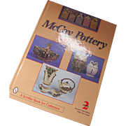 McCoy Pottery by Jeffrey B. Snyder 2nd Edition Price Guide Schiffer Books 2001