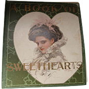 1909 Edition A Book of Sweethearts Pictures by Famous American Artists Harrison Fisher Will Jenkins