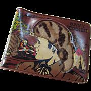 Davy Crockett Walt Disney Wallet 1955