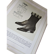 Rare Queen Quality Shoes Catalog 1922 Spring Summer Fashion Stock