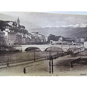 Packet 48 Post Cards Grenoble Unused Carte Postale Black & White Scenes