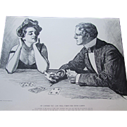 "Charles Dana Gibson 1900 Book ""Americans"" Fifth Book Creator of the Gibson Girl"