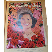 1954 Pasadena Tournament of Roses Pictorial Program Michigan State Spartans UCLA Bruins
