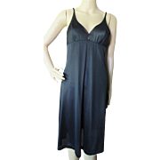 Formfit Rogers Black Slip or Negligee Size 36