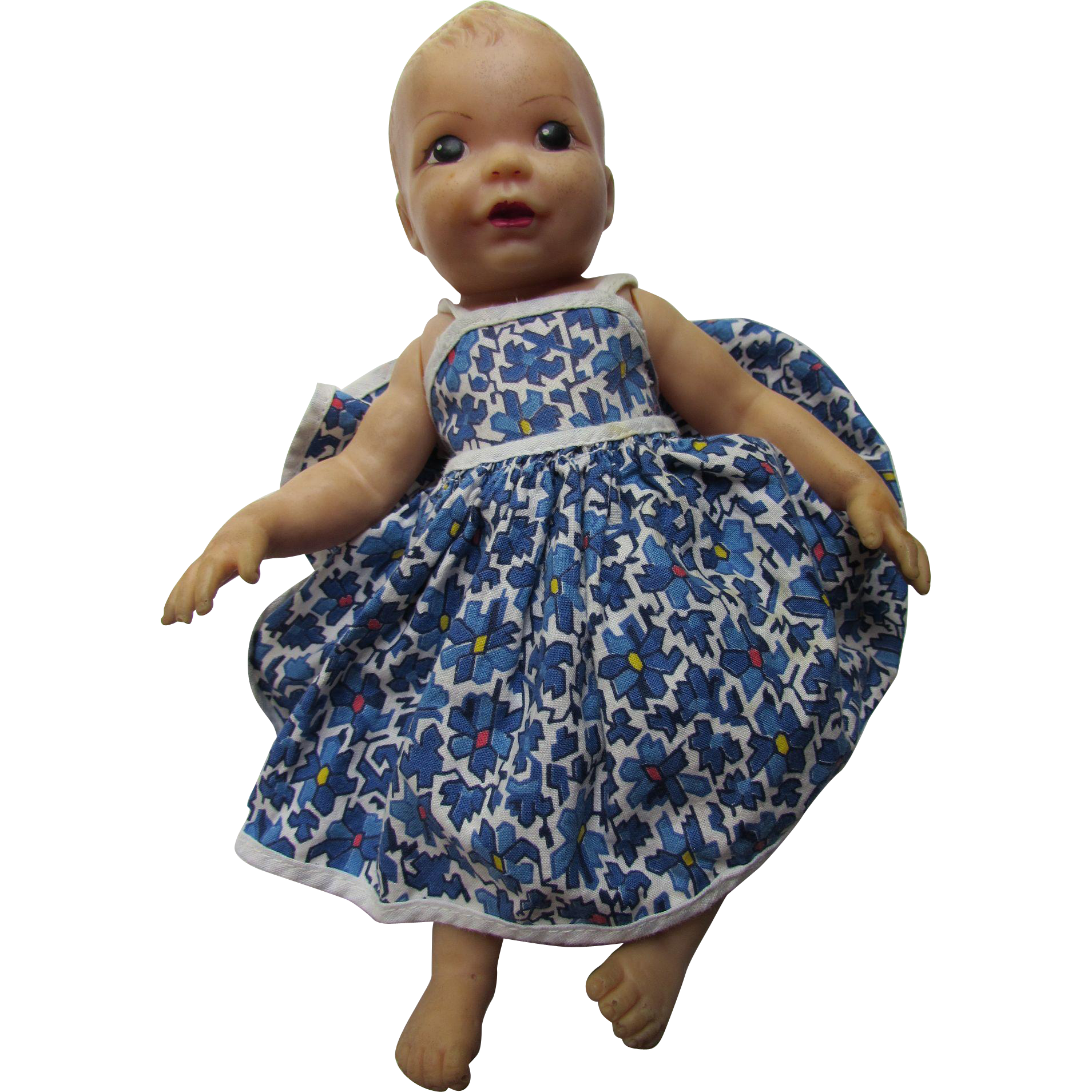 Terri Lee Linda Lee Baby Doll in Vinyl with Plastic Case and Outfit