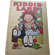 Child's Book Kiddie Land by Grace G Wiederseim Campbell Soup kids artist  Cutest Prints Ever
