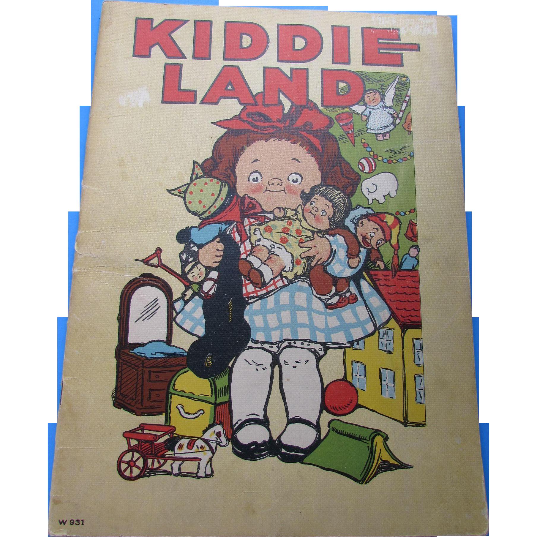 Child's Book Kiddie Land by Grace G Wiederseim Campbell Soup kids artist  Cutest Prints Ever