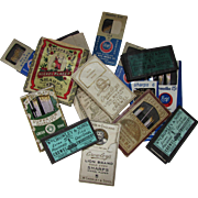 Grouping Vintage Needle Packs Original Packets Crowley, Milward, Green Oak, Sharp and Son, Boye Made in England