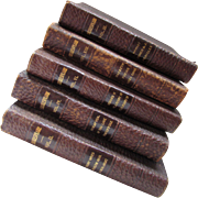 Partial Set 5 Volumes Works of Shakespeare Publisher David McKay Handy Stratford Editions
