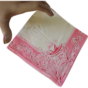 Handkerchief World's Fair 1933 Century of Progress The Central Association of Japan Raw Silk