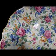 James Kent Chintz Dessert Plates Rosalynde Made in England Fenton