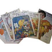 People's Home Journal Magazine October and November 1917 1926 1928 Cream of Wheat Ads Fashions