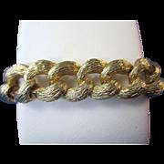 Stunning 14K Gold Vintage Link Bracelet