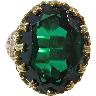 Fabulous Forties Spinel Ring 14K