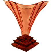 Art Deco Blown Glass Vace